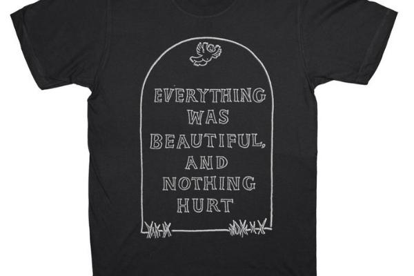 everything was beautiful kurt vonnegut shirt