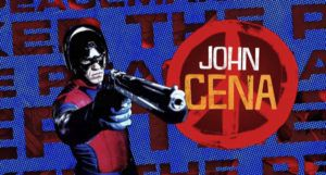 image from DC Fandome of John Cena as The Peacemaker https://www.imdb.com/title/tt6334354/mediaviewer/rm3295257345?ref_=ttmi_mi_all_art_71