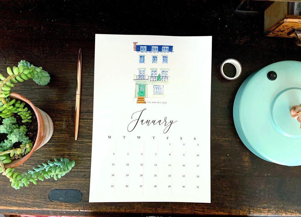 literary houses calendar