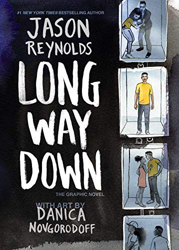 cover image of Long Way Down (graphic novel version) by Jason Reynolds