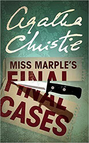 imagem da capa dos casos finais de Miss Marple por Agatha Christie