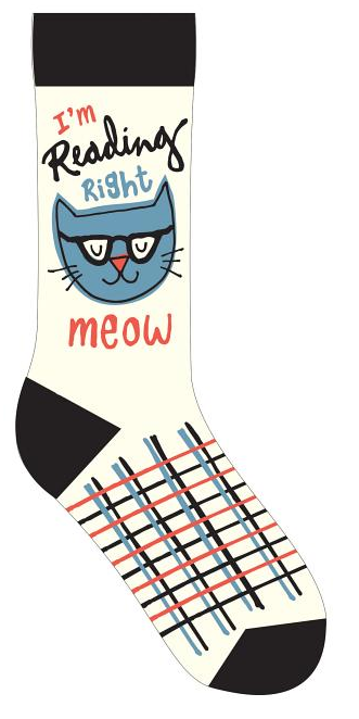 reading right meow socks