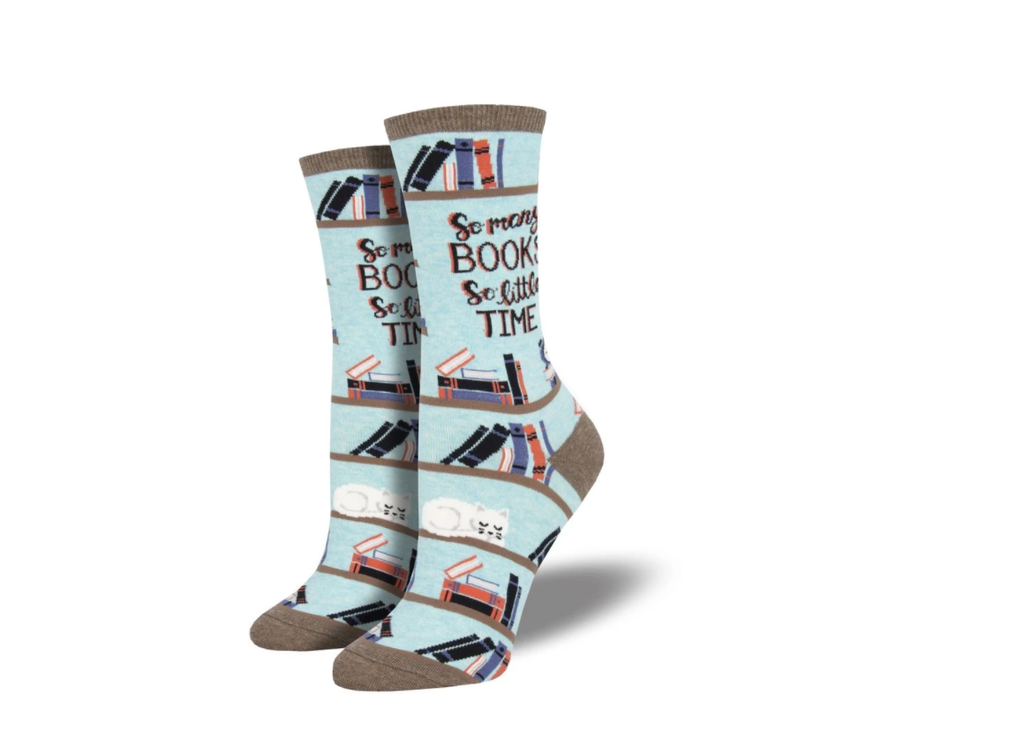 so many books book socks