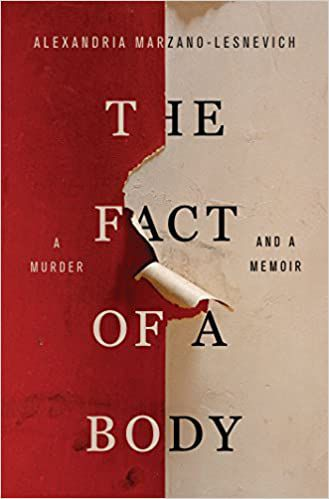 the fact of a body book cover