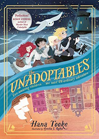 the unadoptables book cover