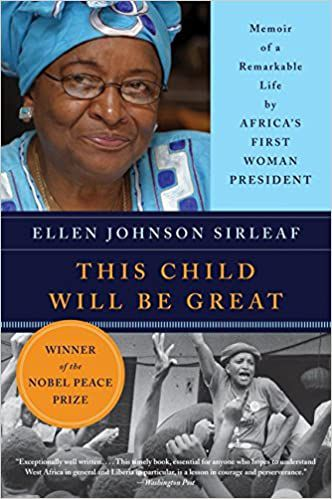 this child will be great a memoir by Ellen Johnson Sirleaf book cover