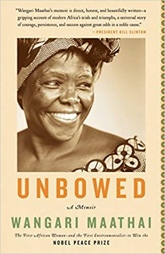 unbowed by wangari maathai book cover