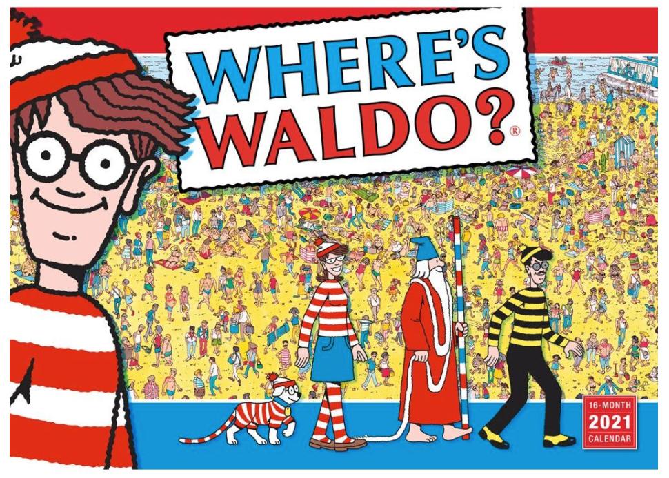 waldo calendar