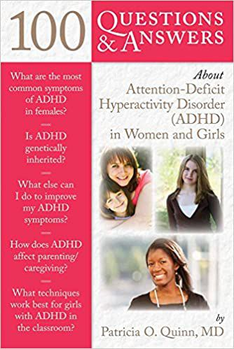 100 questions and answers about adhd in women and girls book cover