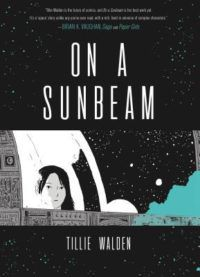 On a sunbeam by Tille Walden relax in space