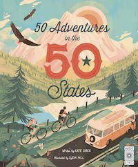 50 Adventures in the 50 States book cover