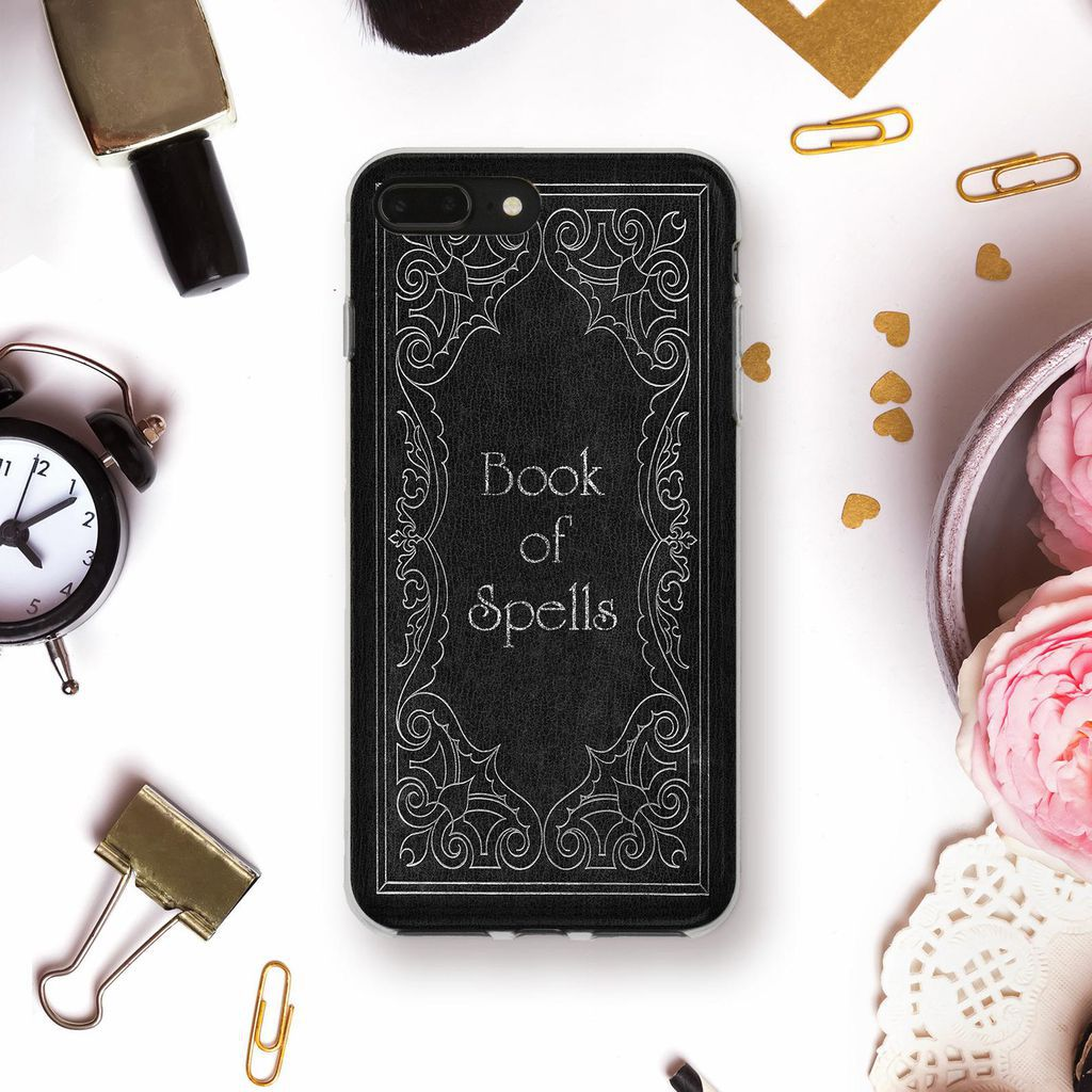 Generic Book of Spells book cover phone case