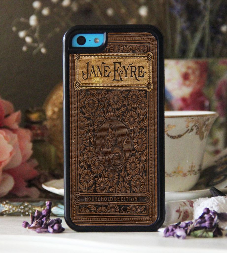 Jane Eyre by Charlotte Bronte book cover phone case