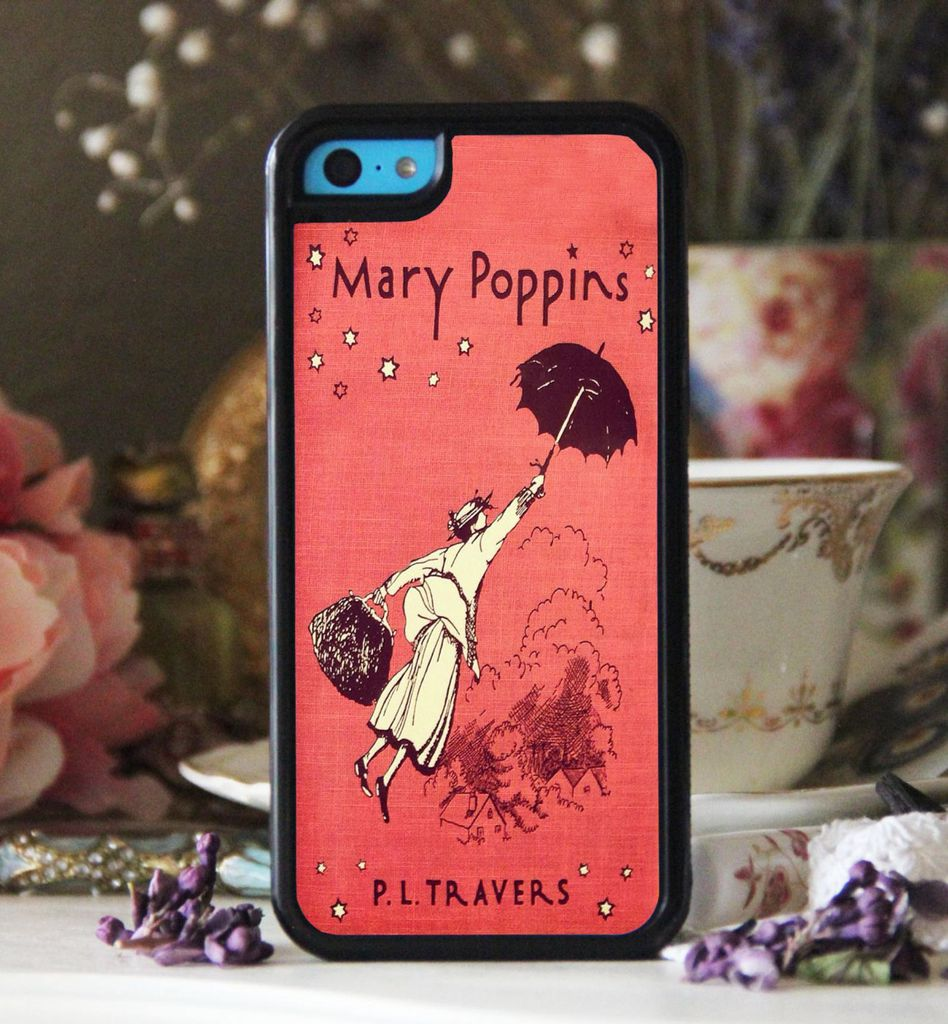 Mary Poppins by P.L. Travers book cover phone case