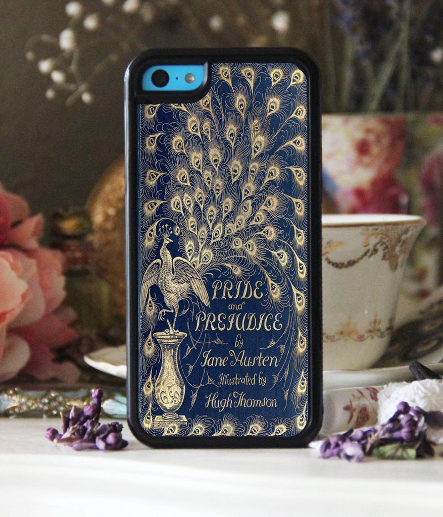 Pride and Prejudice by Jane Austen book cover phone case