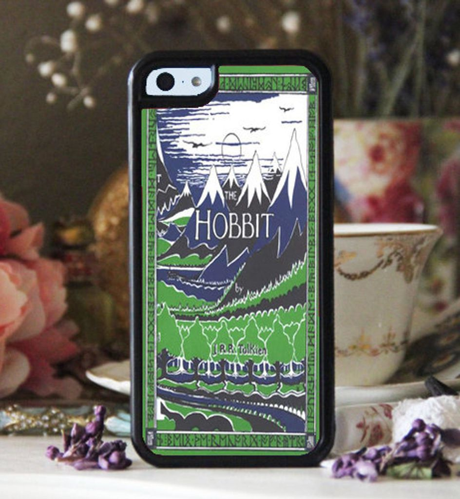 The Hobbit by J.R.R. Tolkein book cover phone case