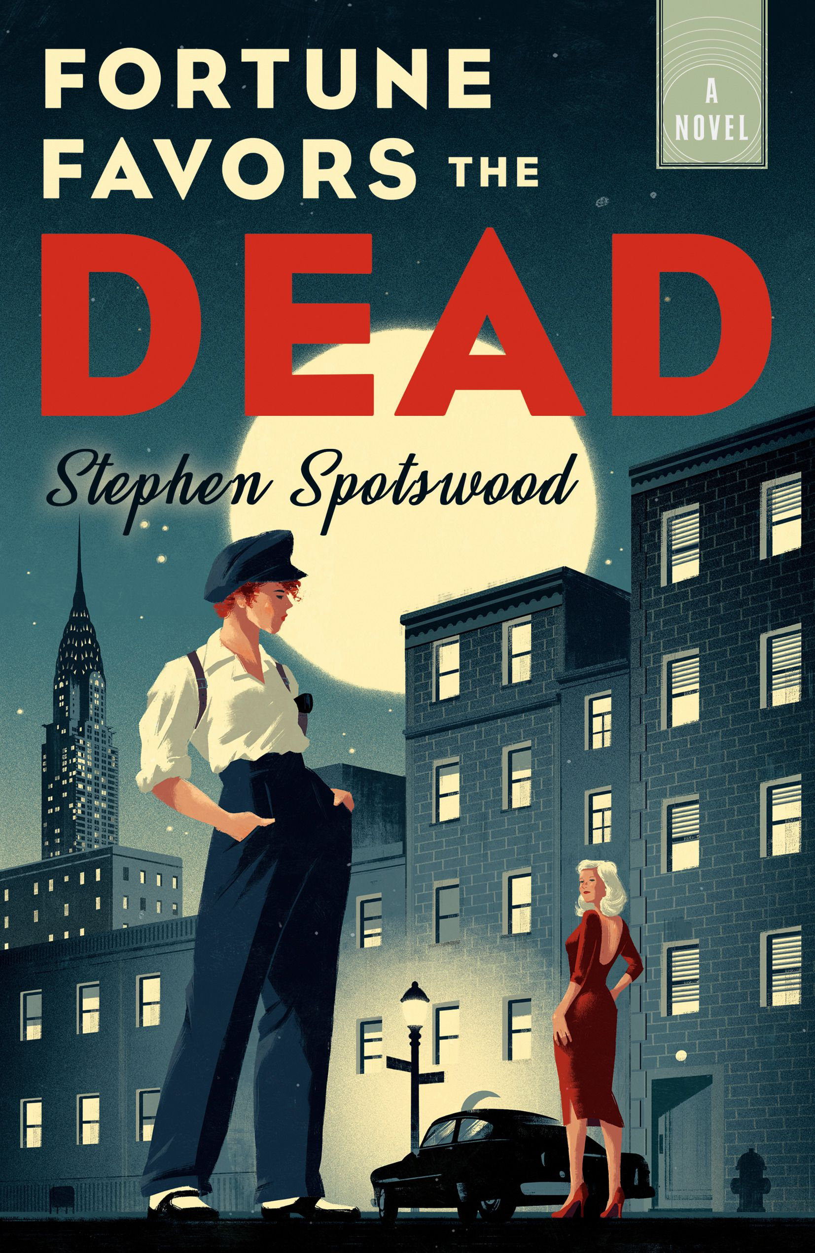 cover image of Fortune Favors the Dead by Stephen Spotswood