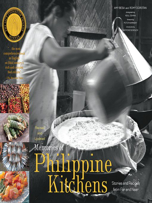 Memories of Philippine Kitchens: Stories and Recipes from Far and Near by Amy Besa and Romy Dorotan book cover