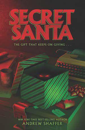 Book cover for Secret Santa by Andrew Shaffer