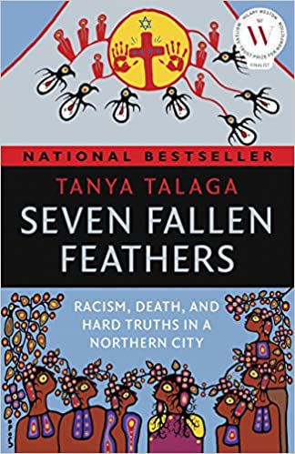 Seven Fallen Feathers by Tanya Talaga book cover