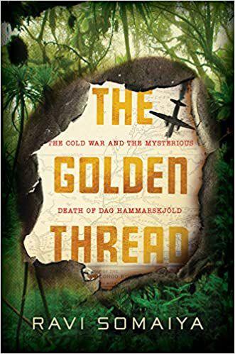 The Golden Thread by Ravi Somaiya book cover