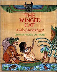 The Winged Cat Deborahh Nourse Lattimore