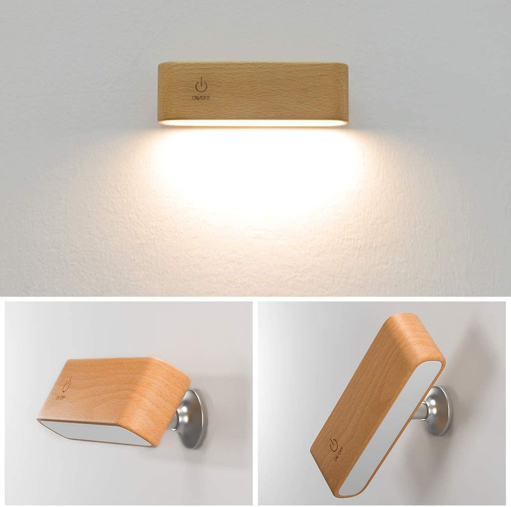 Wall-Mounted Rotatable Light for Reading