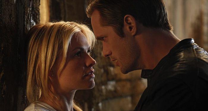 still image of Anna Paquin and Alexander Skarsgard in True Blood series https://www.imdb.com/title/tt0844441/mediaviewer/rm2401078528
