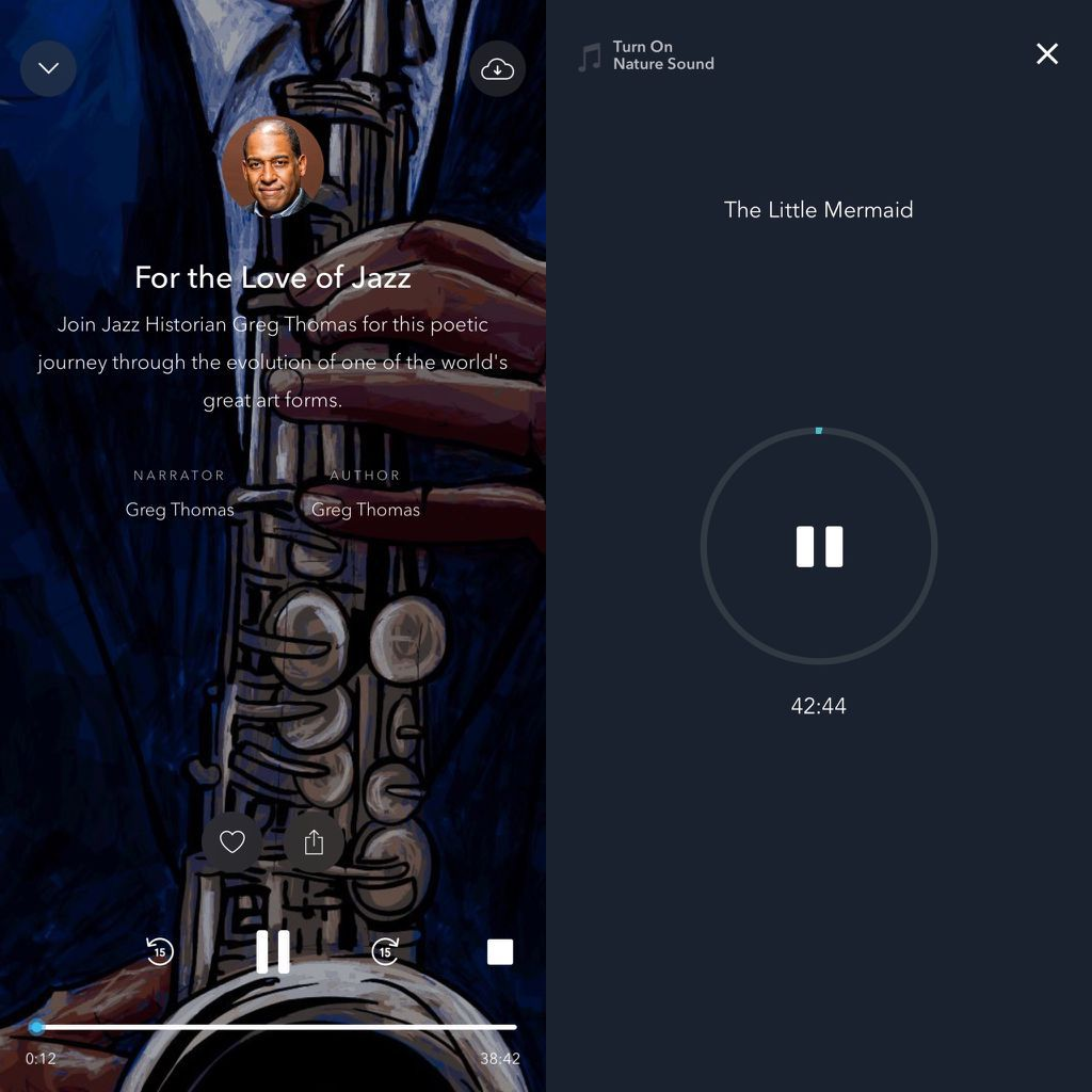 Calm and Simple Habit story screenshots, Audiobooks for sleep, Book Riot