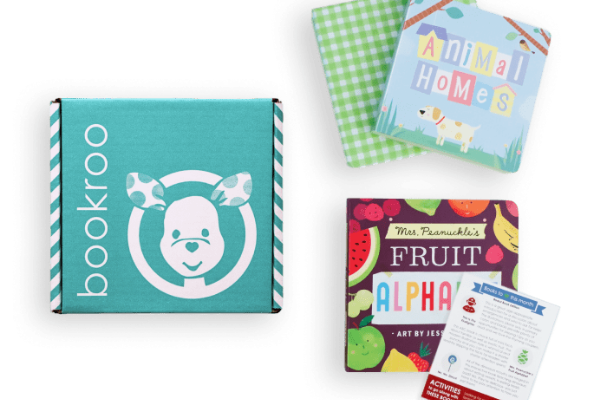 Bookroo Board Book Subscription from Bookish Baby Shower Gift Ideas | bookriot.com