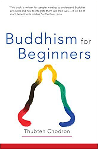 buddhism for beginners book cover