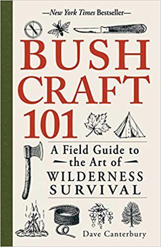 bushcraft 101 book cover