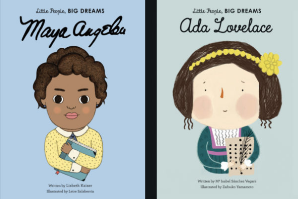Little People, Big Dreams Books from Bookish Baby Shower Gift Ideas | bookriot.com