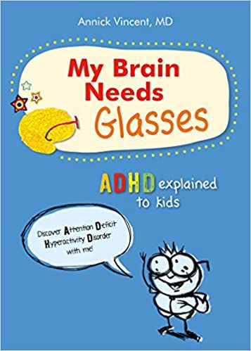 my brain needs glasses book cover