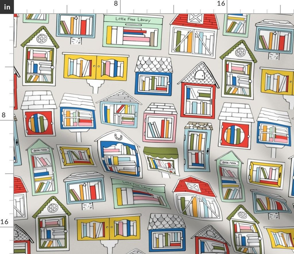 Book Fabric For Face Masks, Totes, and Other Handmade Goods