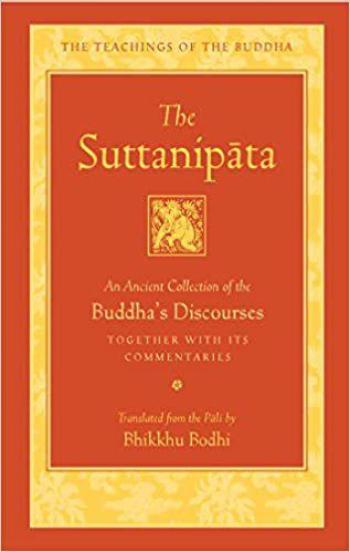 the suttanipata book cover