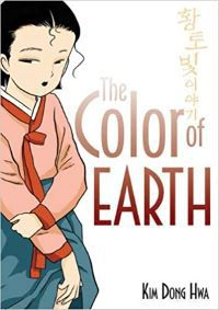 Capa de The Color of Earth de Kim Dong Hwa