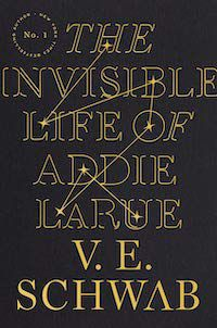 The Invisible Life of Addie LaRue book cover