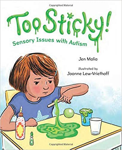 Cover of Too Sticky by Jen Malia