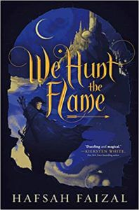 we hunt the flame book cover