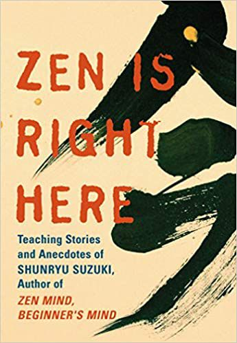zen is right here book cover
