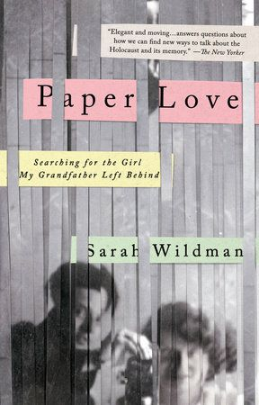 Paper Love by Sarah Wildman cover