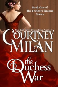 Melhor Série de Ficção Histórica.  A guerra de Dutchess por Courtney Milan.  Link: https://i.gr-assets.com/images/S/compressed.photo.goodreads.com/books/1363009176l/13489919.jpg
