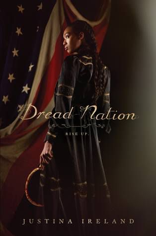 Best Historical Fiction Series. Dread Nation by Justina Ireland. Link: https://i.gr-assets.com/images/S/compressed.photo.goodreads.com/books/1497900615l/30223025._SY475_.jpg