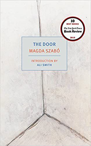 Shows the book cover of The Door by Magda Szabo.
