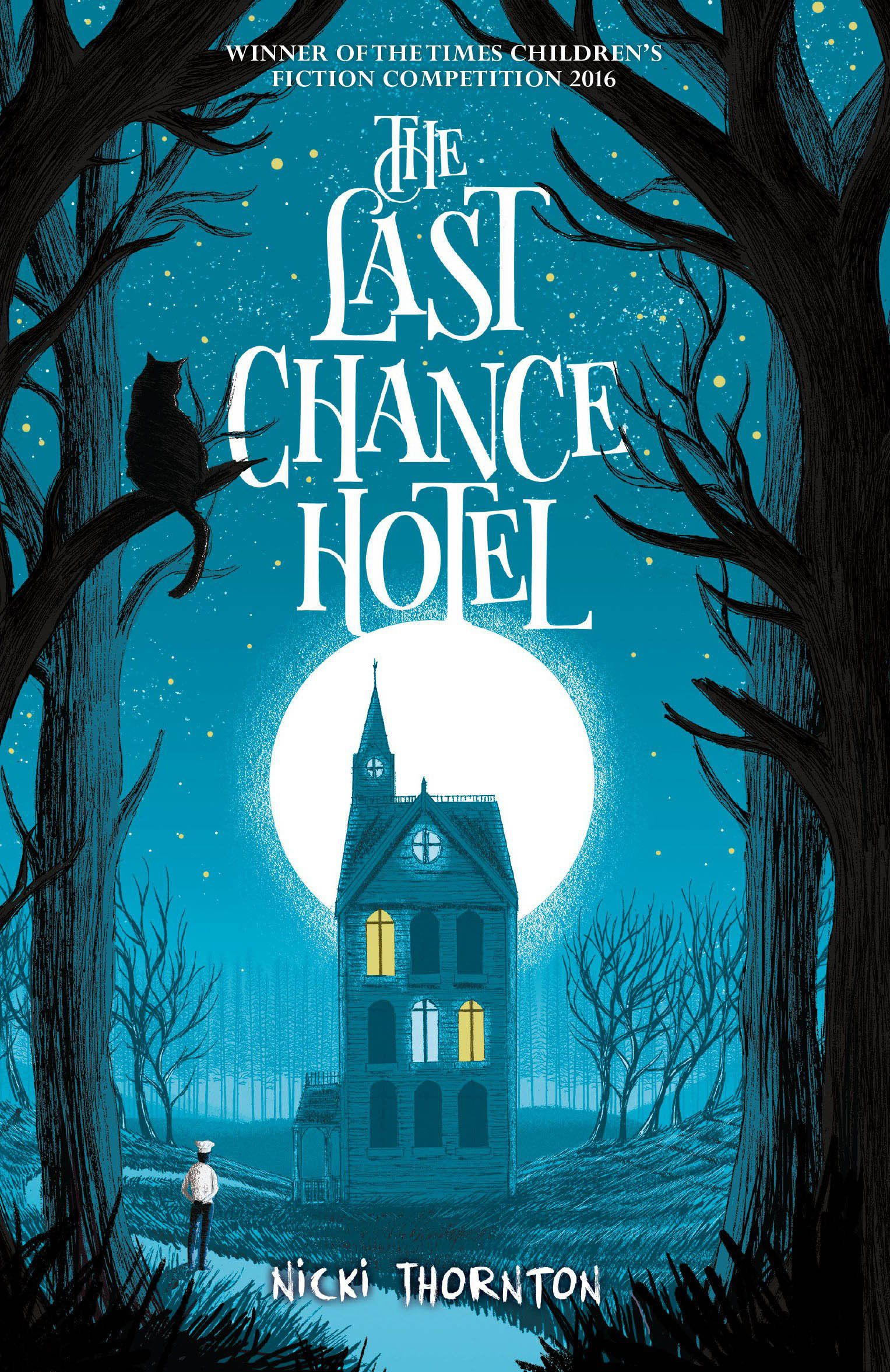Capa do The Last Chance Hotel