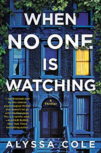 cover image of When No One is Watching by Alyssa Cole