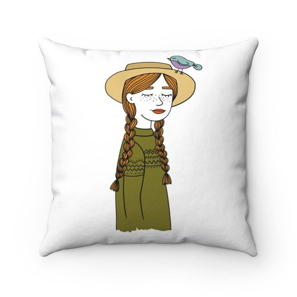 anne of green gables pillow