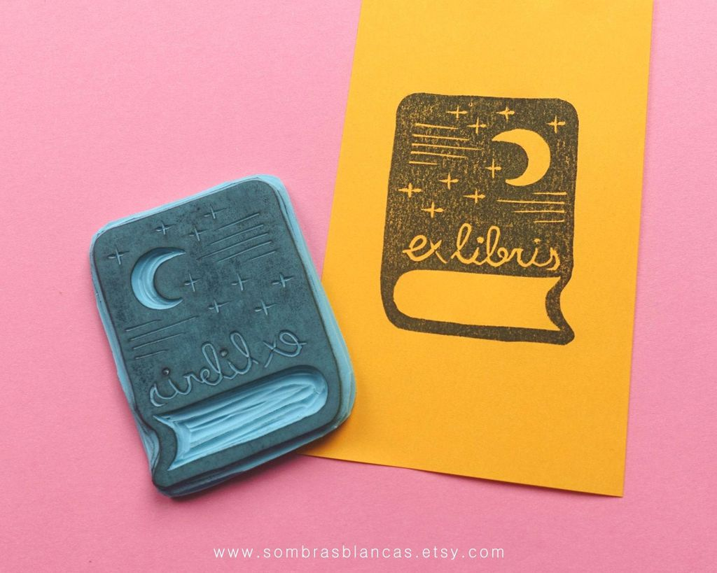 book plate stamp