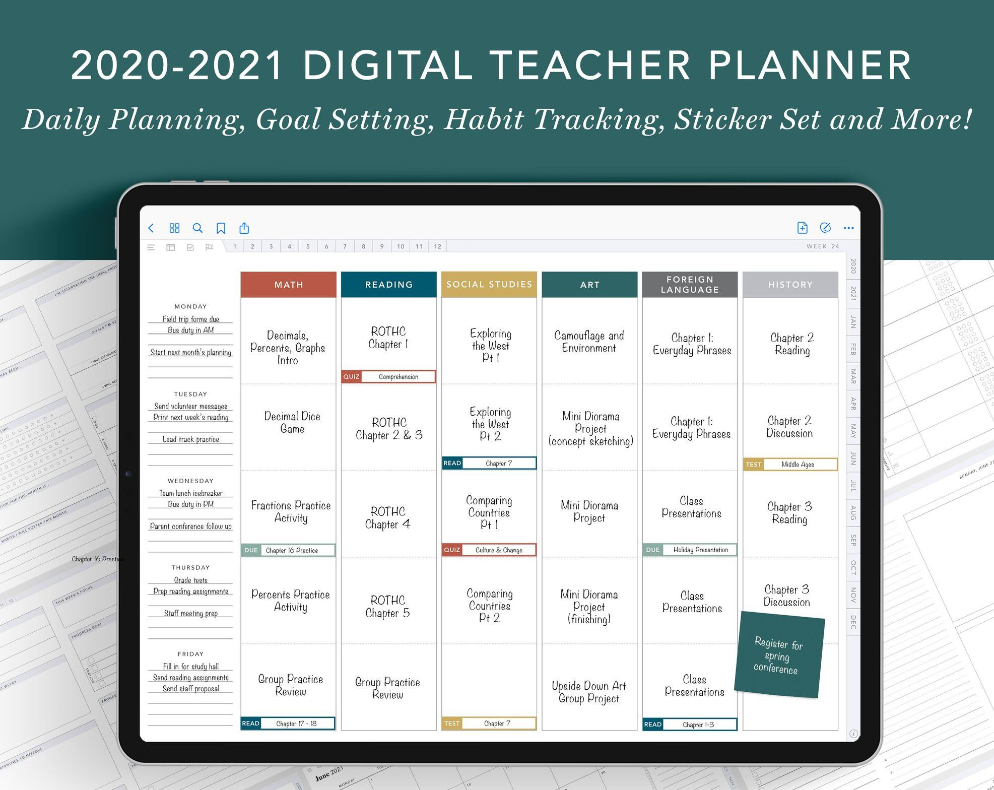 planner for 2021
